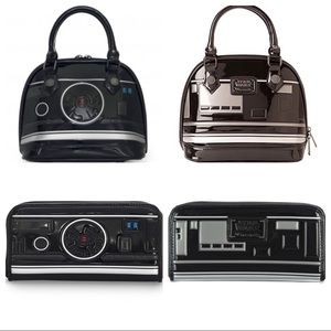 NWT Loungefly Star Wars BB-9E Dome Bag & Wallet